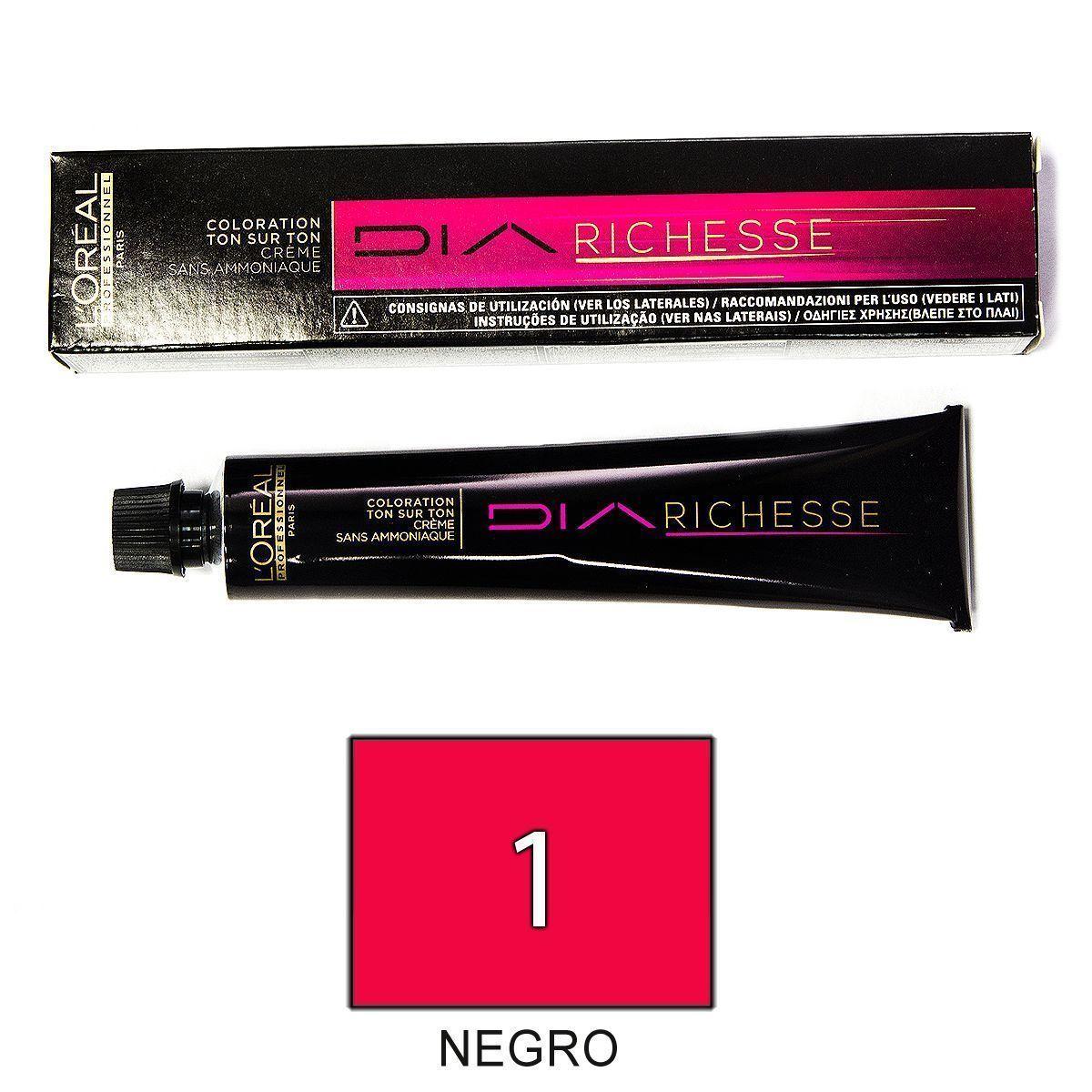 Loreal Diarichesse 1 Negro Tinte 50ml