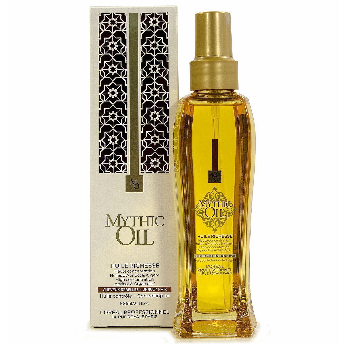 Loreal Mythic Oil HUILE RICHESSE 100ml Cabellos rebeldes